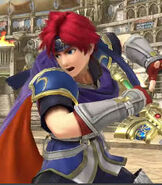 Roy in Super Smash Bros. For Wii U and Nintendo 3DS