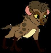 Soleil Spacebot hyena form thelionking in thespacebotsadventuresseries
