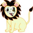 Bernard as a Lion