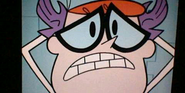 Dexter is afraid
