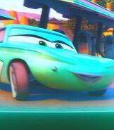 Flo in Lightning McQueen's Racing Academy