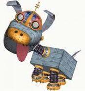 Jimmy Neutron Goddard the Robot Dog