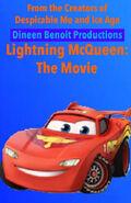 Lightning McQueen The Movie (Garfield The Movie) Poster