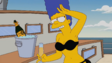 Marge's Black bikini