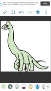 Nelson as Brachiosaurus