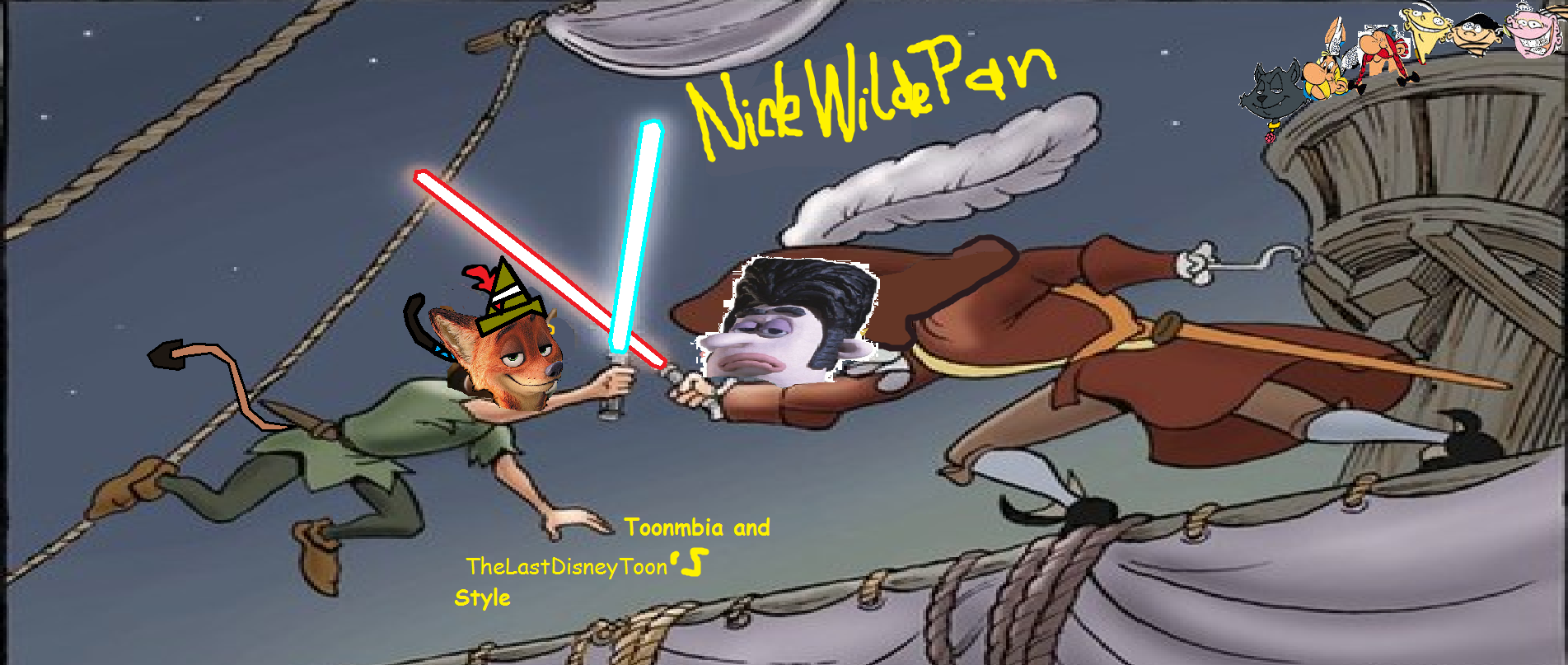 Nick Wilde Pan (TheLastDisneyToon and Toonmbia Style)