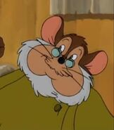 Papa Mousekewitz in An American Tail The Mystery of the Night Monster