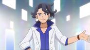 Professor Sycamore Anime