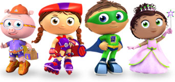 Super Why! Meets Blue's Clues: The Legend of the Blue Puppy
