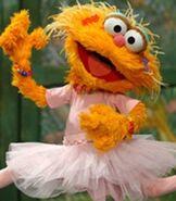 Zoe in Sesame Street