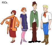 1920s Mystery Gang