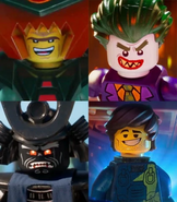 4 Lego Movie Villains