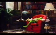 Kermit falls asleep in the library during the end credits - Muppet Babies Video Storybook Vol.2