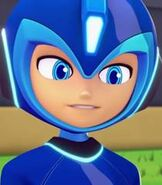 Mega Man in Mega Man Fully Charged
