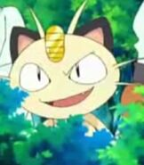 Meowth in The Mastermind of Mirage Pokemon