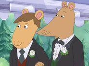 Mr. Ratburn & his husband Patrick