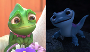 Pascal and Bruni (Tangled and Frozen 2)