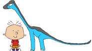 Stanley Griff meets Brachiosaurus