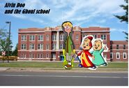 Alvin doo and the ghoul school