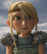 Astrid in How To Train Your Dragon