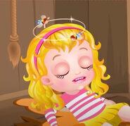 Baby Hazel as Goldilocks Dizzy