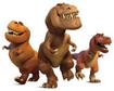 Butch and kids good dinosaur