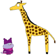 Chowder Meets Giraffe