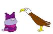 Chowder meets Bald Eagle