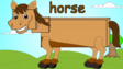 English Tree TV Horse