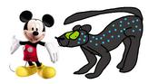 Mickey and Bageerha