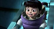 Monsters Inc- Boo delighted to see Sulley rescuing her