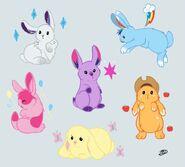 Rabbit Mane 6