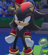 Shadow the Hedgehog in Mario and Sonic at the Rio 2016 Olympic Games