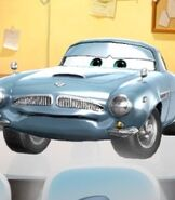 Finn McMissile in Cars - Fast as Lightning