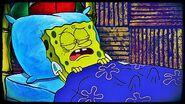 Spongebob sleeping