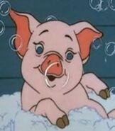 Wilbur in Charlotte's Web