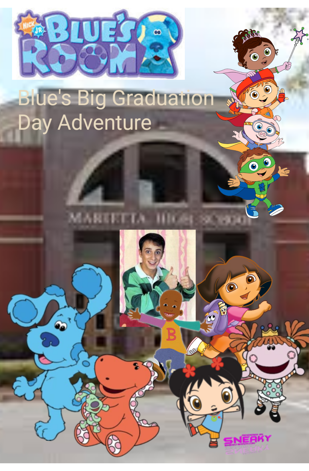 Blue's Room: Blue's Big Graduation Day Adventure