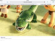 Crocodile toy story
