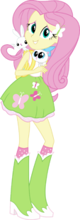 Equestria girls fluttershy vector by sugar loop d9olxh6-fullview