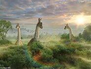 Farm Brachiosaurus