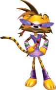Kisha as Tiger