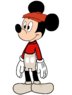 Mickey Mouse Dressed Up as Bernard