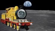 Molly on the moon