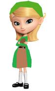 Penny as Sherlock Holmes