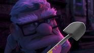 Carl Fredricksen Glares Sherman