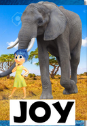 Joy (Moana) (NR1GLA Style) Poster