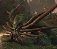 Kraken from might and magic Heroes VII