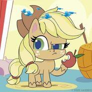 MLP pony life Applejack Dizzy