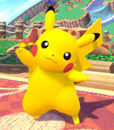 Pikachu in Super Smash Bros. for Wii-U and 3DS