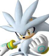 Silver the Hedgehog in Sonic Riders - Zero Gravity